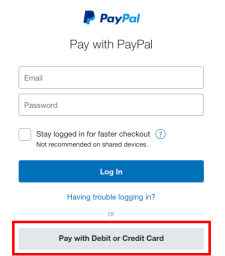 PayPal Steps